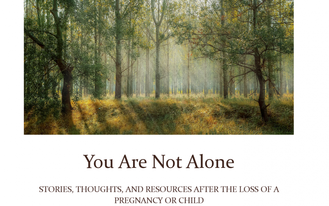 You Are Not Alone: Pregnancy and Infant Loss Awareness Day 2018