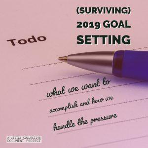 Goal setting season