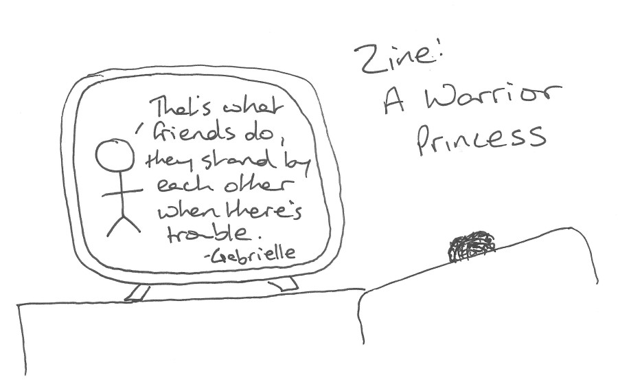 Zine: A Warrior Princess call for contributions