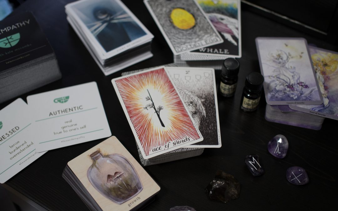 Using Tarot (and other woo) as a Self-Storying Tool