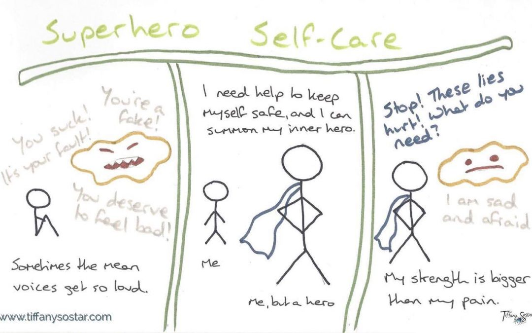 #stickfiguresunday: Superhero Self-Care