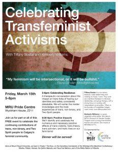 Celebrating Transfeminist Activisms