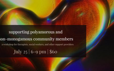 NEW! Polyamory and non-monogamy workshop for support providers