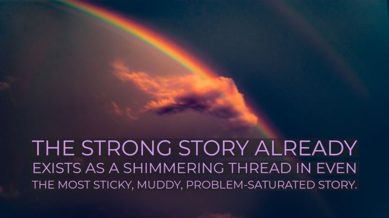 Responding to problem-saturated stories
